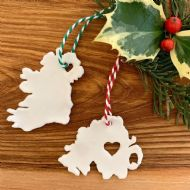 Jemma Millen Mini Ireland Map Decorations